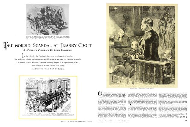 THE MORRID SCANDAL AT TRANBY CROFT