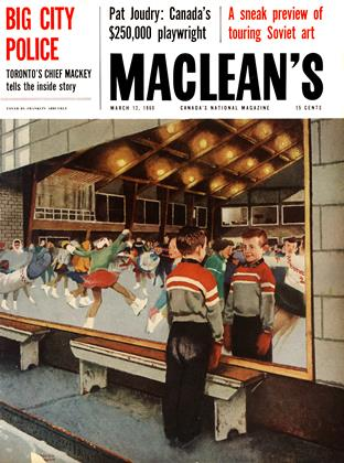 Cover for the March 12 1960 issue