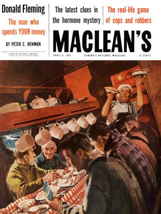 Cover for the April 9 1960 issue