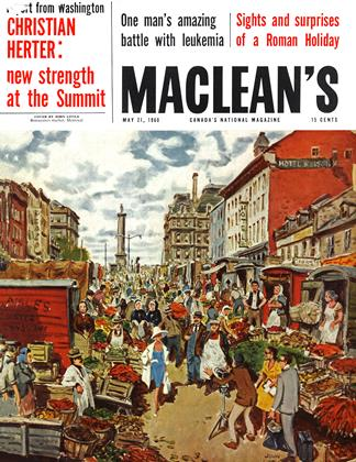 Cover for the May 21 1960 issue