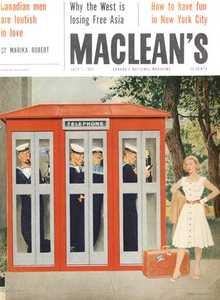 Cover for the July 2 1960 issue