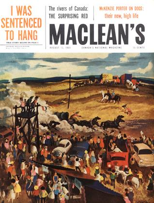 Cover for the August 13 1960 issue