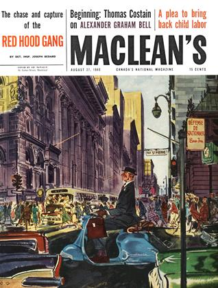 Cover for the August 22 1960 issue