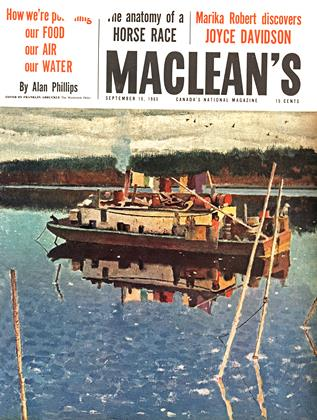 Cover for the September 10 1960 issue
