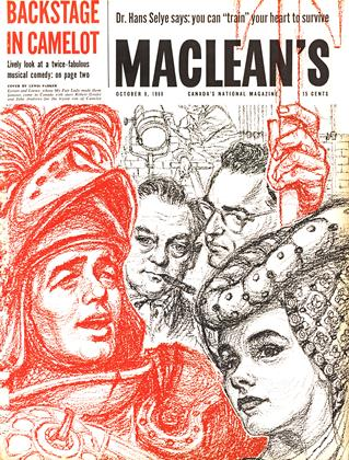 Cover for the October 8 1960 issue