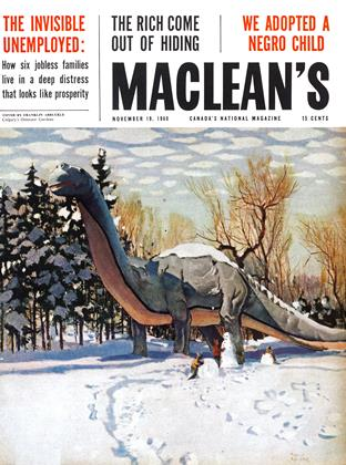 Cover for the November 19 1960 issue