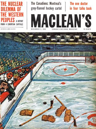 Cover for the December 3 1960 issue