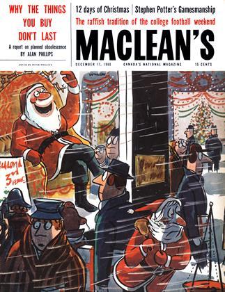 DECEMBER 17, 1960 | Maclean's