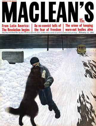 Cover for the February 11 1961 issue