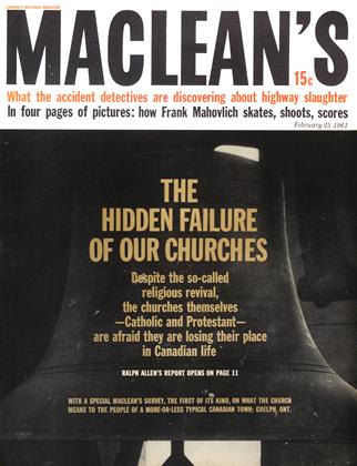 Cover for the February 25 1961 issue