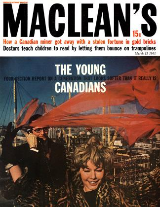 Cover for the March 25 1961 issue