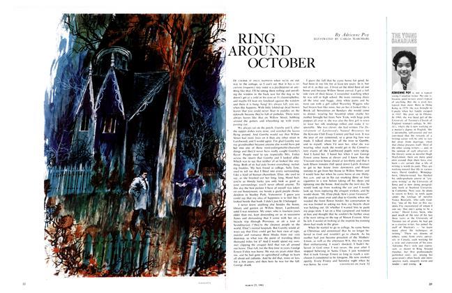 RING AROUND OCTOBER