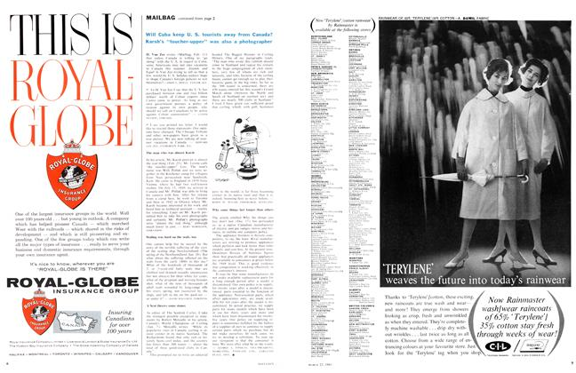 Advertisement, Page: 7 - March 25 1961 | Maclean's