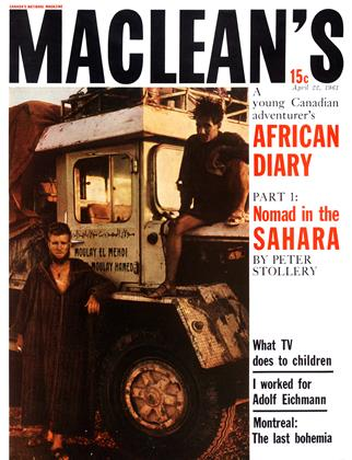 Cover for the April 22 1961 issue