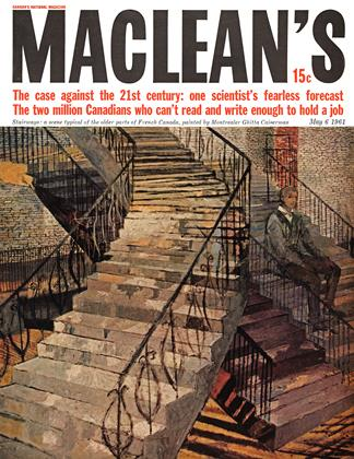 Cover for the May 6 1961 issue