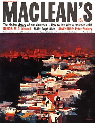 Cover for the June 3 1961 issue
