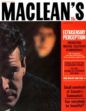 Cover for the July 29 1961 issue