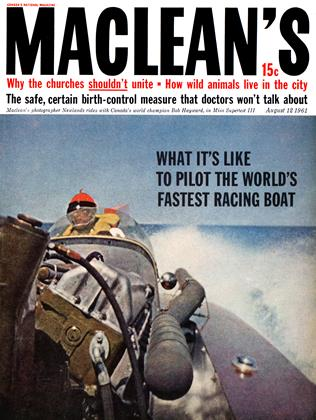 Cover for the August 12 1961 issue