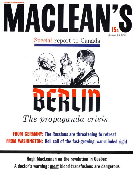 Issue: - August 1961 | Maclean's