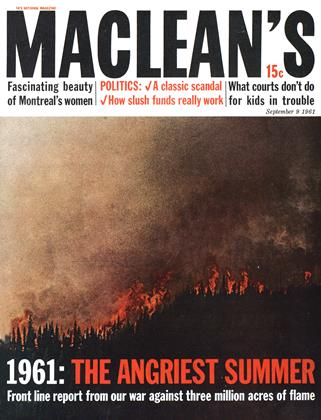 Cover for the September 9 1961 issue