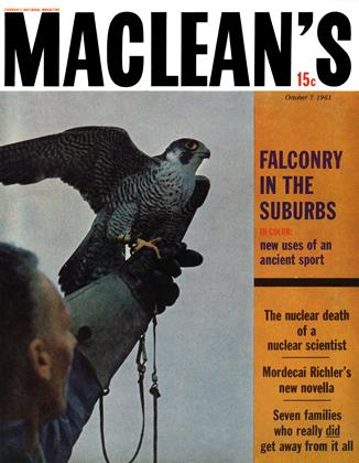 Cover for the October 7 1961 issue