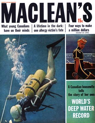 Cover for the October 21 1961 issue