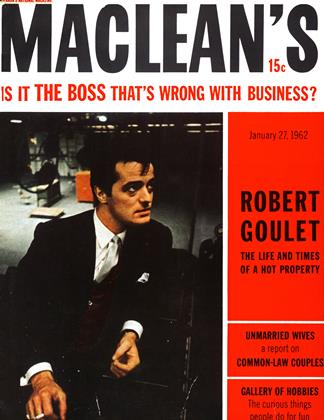 Cover for the January 27 1962 issue