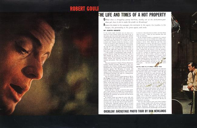 ROBERT GOULE THE LIFE AND TIMES OF A HOT PROPERTY