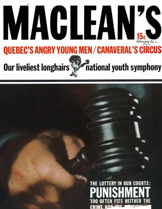 Cover for the February 24 1962 issue
