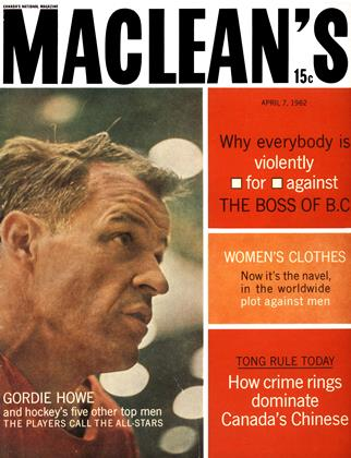 Cover for the April 7 1962 issue