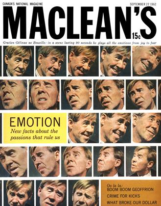 Cover for the September 22 1962 issue
