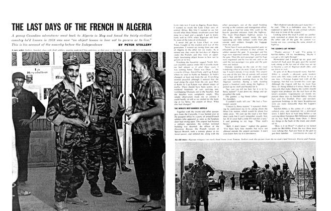 THE LAST DAYS OF THE FRENCH IN ALGERIA