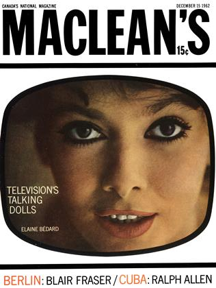 Cover for the December 15 1962 issue