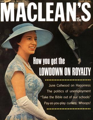 Cover for the January 26 1963 issue