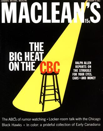 Cover for the February 9 1963 issue