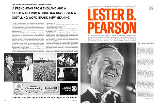 The puzzling-to almost everybody-personality of LESTER B. PEARSON