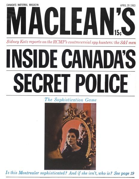 Issue: - April 1963 | Maclean's