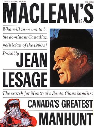 Cover for the June 1 1963 issue