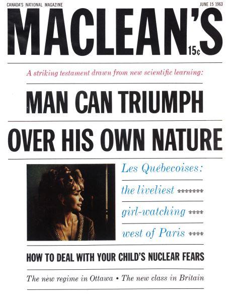 Issue: - June 1963 | Maclean's