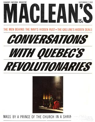 Cover for the September 7 1963 issue