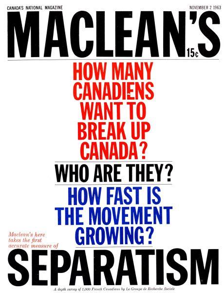 Issue: - November 1963 | Maclean's