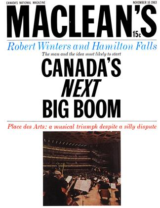 Cover for the November 16 1963 issue