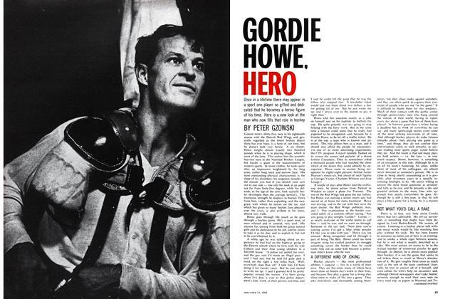 Gordie Howe, Hero
