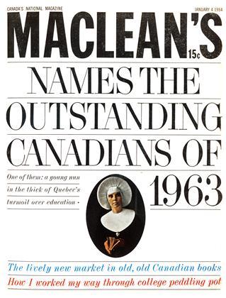 JANUARY 4 1964 | Maclean's