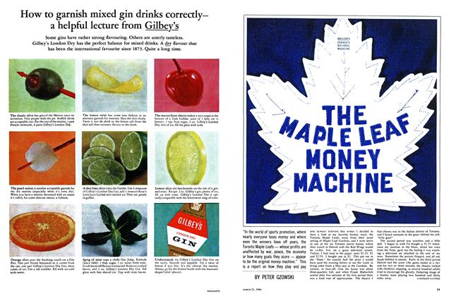 THE MAPLE LEAF MONEY MACHINE