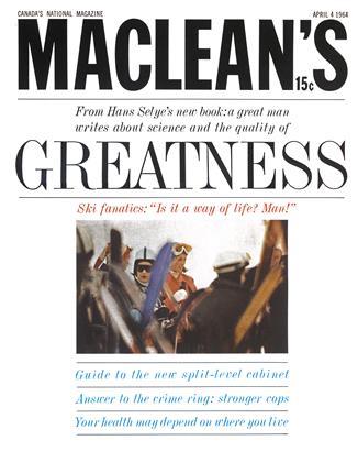 APRIL 4 1964 | Maclean's