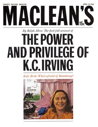 Cover for the April 18 1964 issue