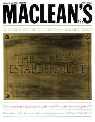 AUGUST 22 1964 | Maclean's