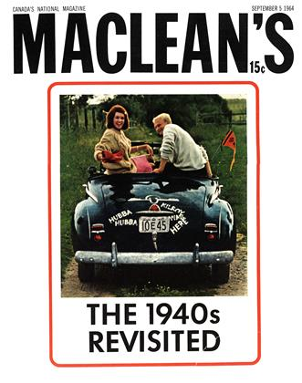 Cover for the September 5 1964 issue