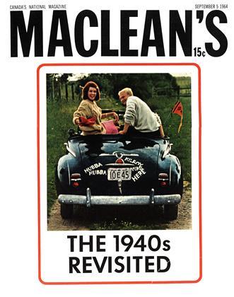 SEPTEMBER 5 1964 | Maclean's